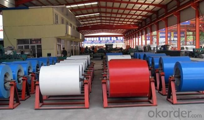 Prepainted Galvanized Steel Coil for Building Material