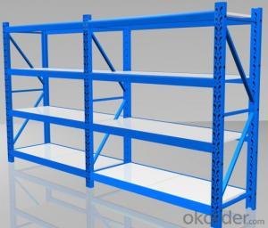 medium sized pallet racking shelves customized