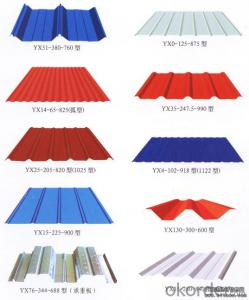 Prime quantity color coated Galvanized Steel corrugated sheets
