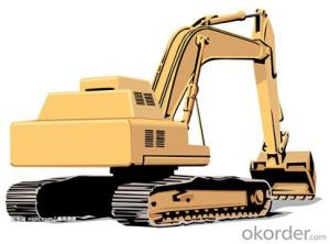 Excavator : FR330,Enhanced Working Device Design, Adopting Cast-weld Structure