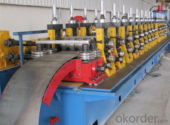 High Way Guard Rail Roll Forming Machine