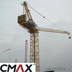 Luffing Tower Crane TCD4021 Max Load 8 T