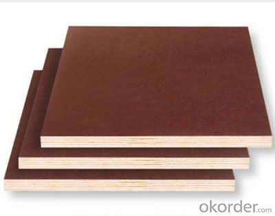 Brown Film Faced Plywood/ Formwork plywood for construction