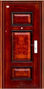High - End Seurity Galvanized Stee Door in Shanghai