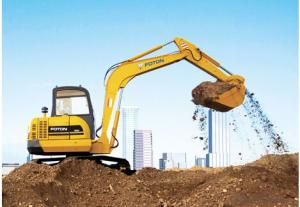 Excavator : FR225E,Enhanced Working Device Design, Adopting Cast-weld Structure