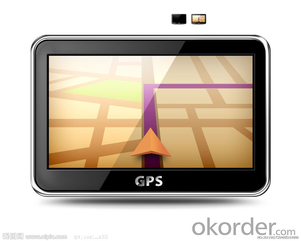 Car GPS Navigation 7 Inch Having Bluetooth WIFI with ROHS Certificates
