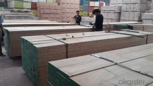 WBP Glue and Best Quality  LVL Scaffolding Plank/Board for construction