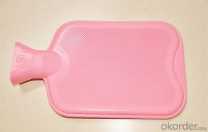 Silicone Hot Water Bottle 2000ml Medical Usage