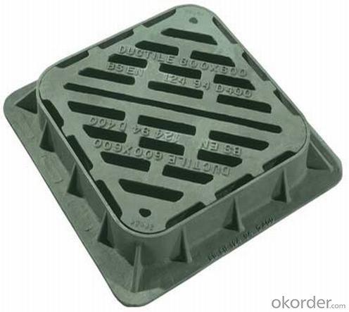 CMAX Ductile Iron Manhole Cover D400/C250/B125