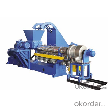 Plastic Double Pipe Extrusion Production Line with Conical Twin Screw Extruder