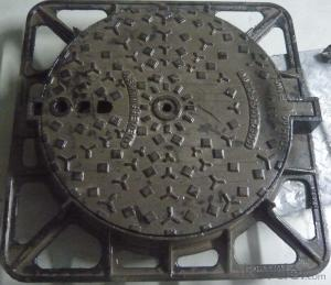 Manhole Cover with Ductile Iron D400/C250  CMAX  Brand