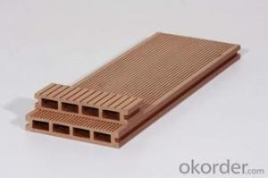 Waterproof WPC project decking from China