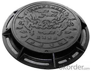 Manhole Cover with Ductile Iron Material D400/C250