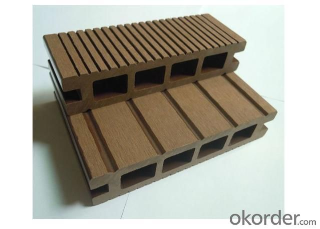New Fantastic outdoor Wood Plastic Composite (WPC) Decking