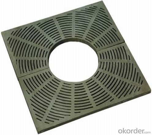 CNBM B125  Manhole Cover Ductile Iron Material for Trees