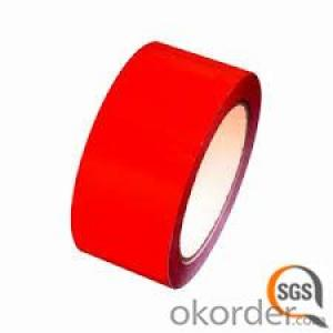 BOPP TAPE 60 MICRON RED COLOUR SGS&ISO9001 CERTIFICATE