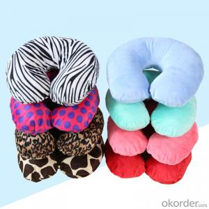 Polystyrene beads Travel Pillow Of Nice Color