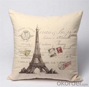 Chair Cushion Cover Material 100% Cotton