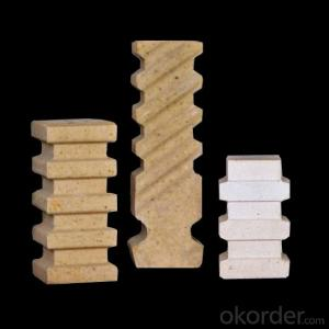 High Alumina Anchor Bricks 127 High Refractoriness