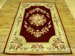 100%PP Wilton Carpet with Modern Design for Home Decoration