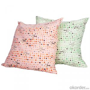 Home Decorative Cushion with Cotton Linen Damask