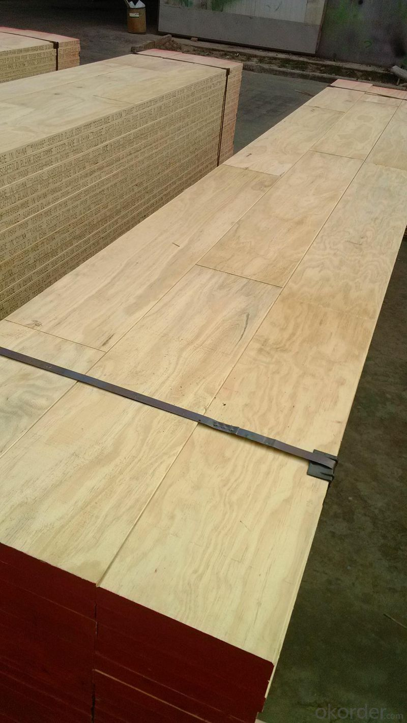 OSHA Certificate Laminated veneer Scaffolding Plank for construction