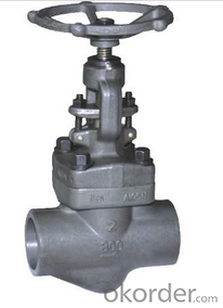 Forged Steel Globe Valve  RF/RTJ flange, butt welded