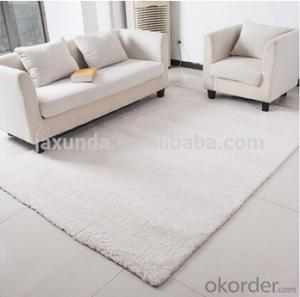 Soft Shaggy Rug of 100% Polyester Microfiber