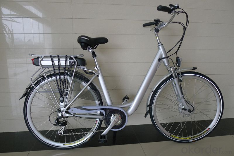 Electric city Bike for woman with CE,EN15194 and EPAC