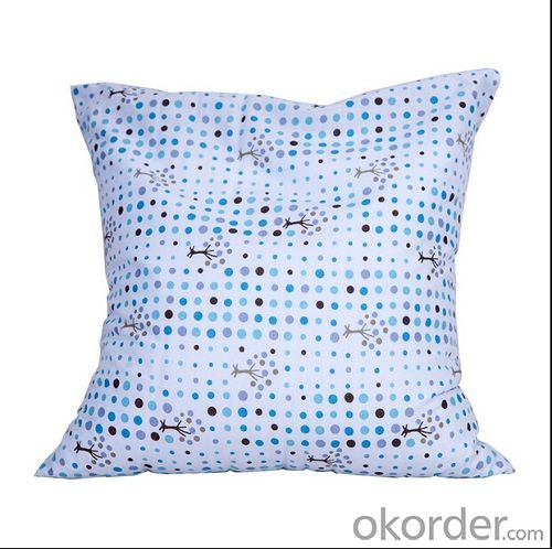 Beads Pillow of Square Shape with Nice Pattern