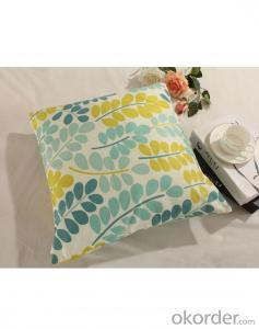 100%cotton Wholesale Printed Style Scatter Cushion for Cotton Linen