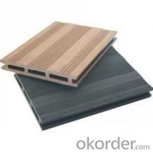 Outdoor Wood Plastic composite engineered Decking