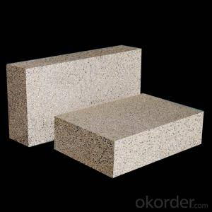 Fireclay refractory bricks for furnace