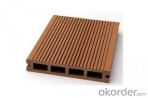Carrefour good price wood plastic composite decking