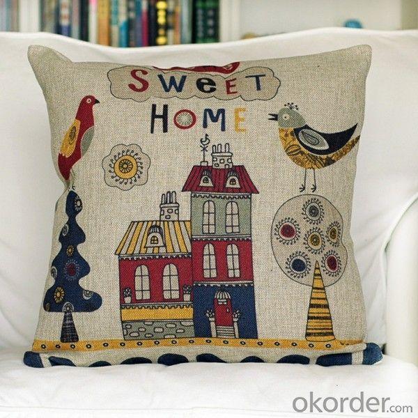 High Quality Lumbar Support Pillows Hot Sale Cotton Linen