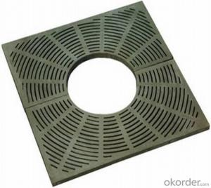 EN124 tree grating Duplite Iron Material