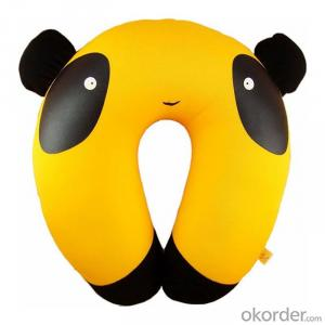 Polystyrene travel pillow of Animal Shape