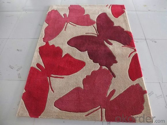 Acrylic Hotel Carpets and Rugs Handmade from China
