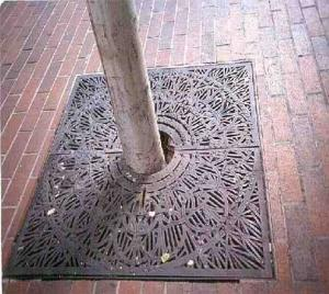 Tree Grating Manhole Cover  Building Materials