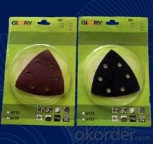Glory Aluminium Oxide Radial Velcro Disc