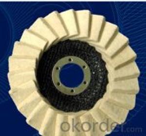 Flap Wheel for Wood Polishing 100mm Abrasive Tools