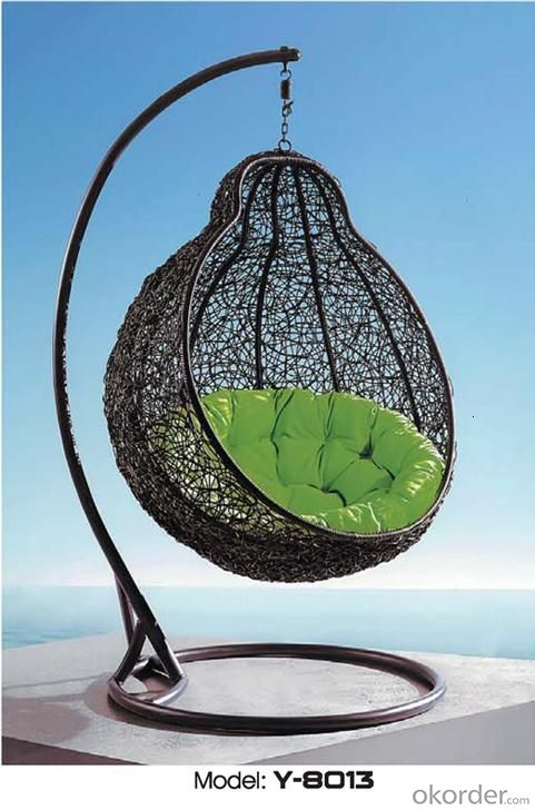 Popular Outdoor Nice Rattan Outdoor Swing Sets