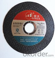 Abrasive Tools for Metal Diamond Cutting Wheels