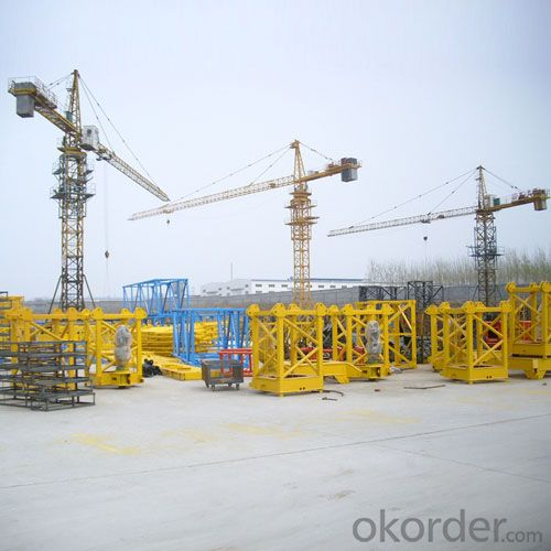 Tower Crane Buy Small Gib Tower Crane QTZ40 at Okorder