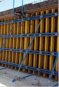 Timber Beam Wall and Column Formwork Used in Construction Building