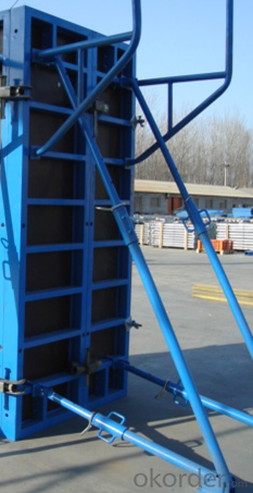 Single-side Steel  Formwork for Wall Construction