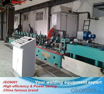 ERW steel tube solid state high frequencey welder