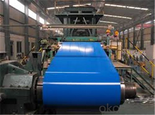 Color Coated galvanized cold Rolled Steel coils
