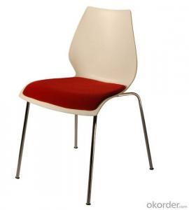 Plastic chair Different Colors Cheap  for living room