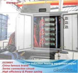 aluminium pipe high frequency thyristor H F welding equipment